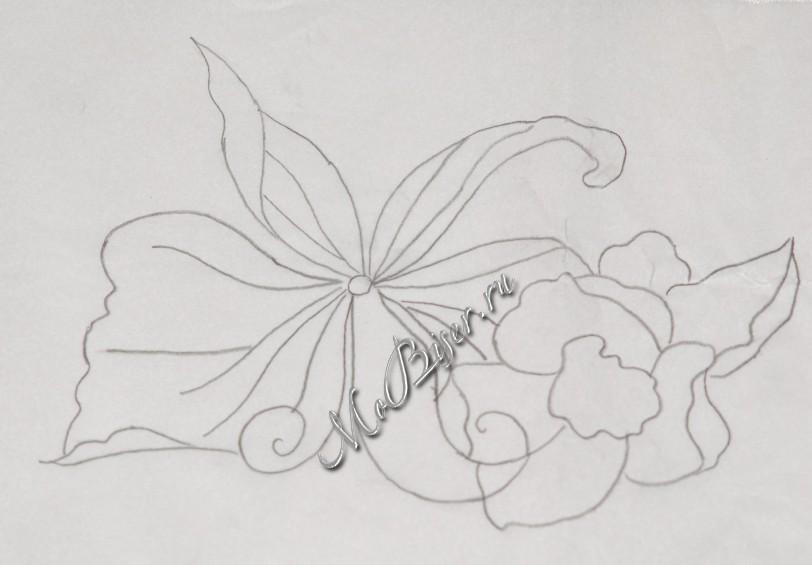 рисунок для вышивки бисером