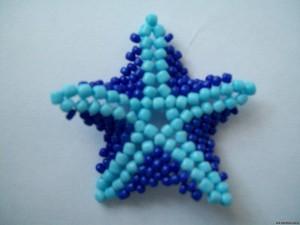 звезды из бисера