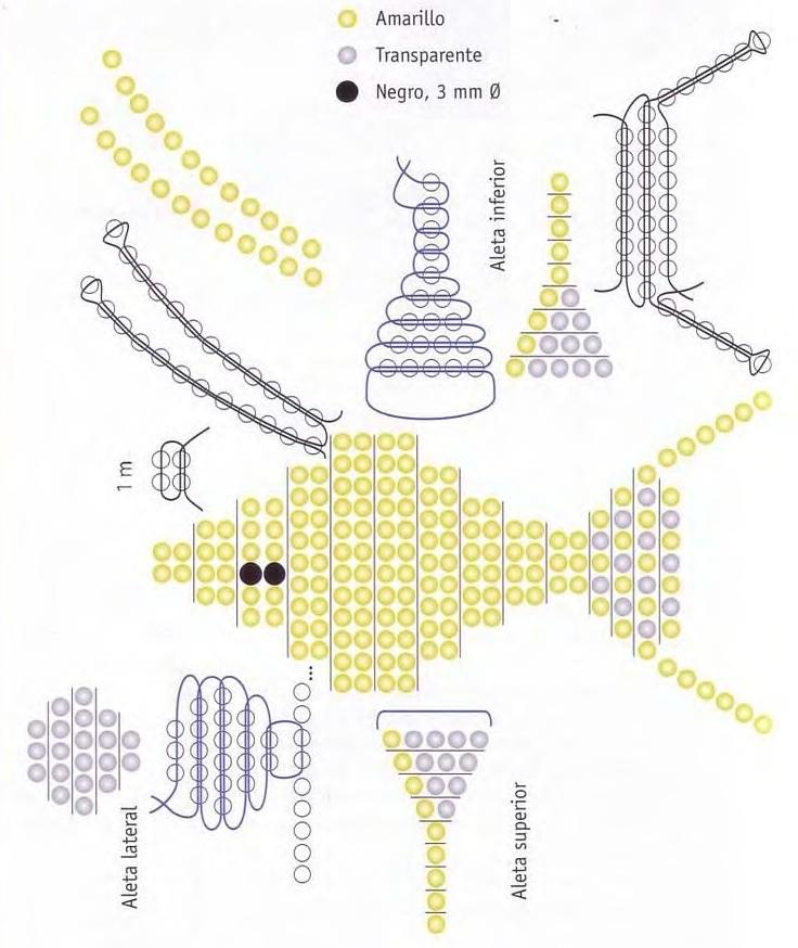 Схема для плетения золотой