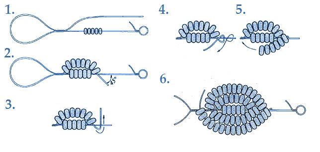 поделки из бисера цветы